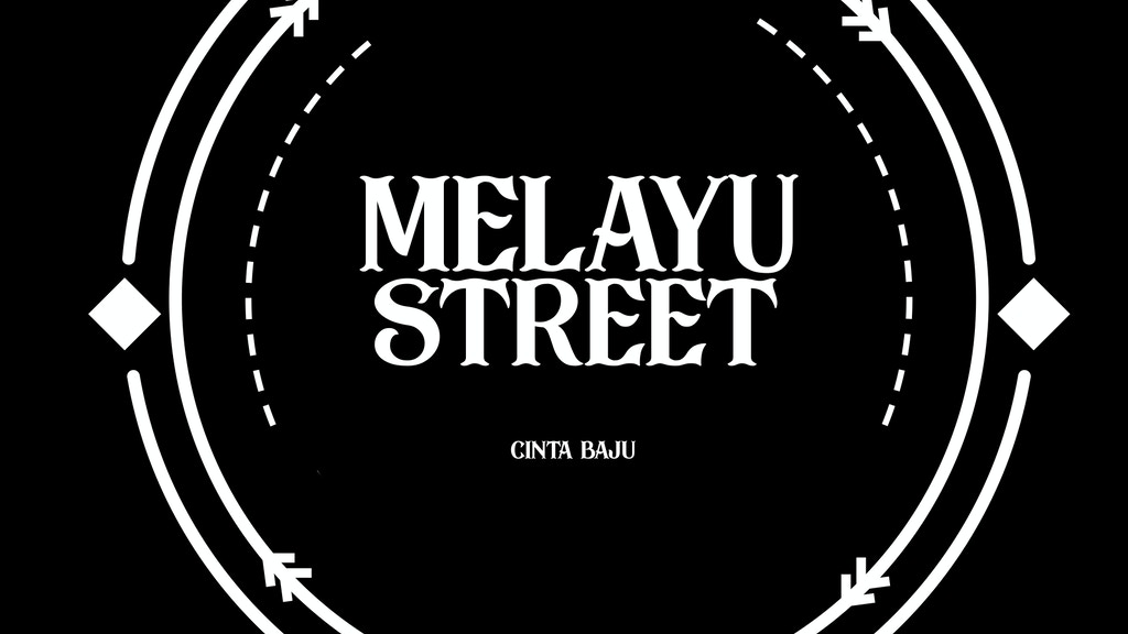 Project image for Melayu Street: A fashion brand for youths of Singapore
