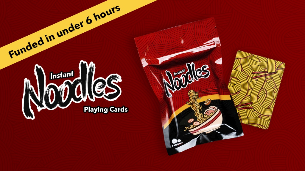 Instant Noodles Playing Cards project video thumbnail