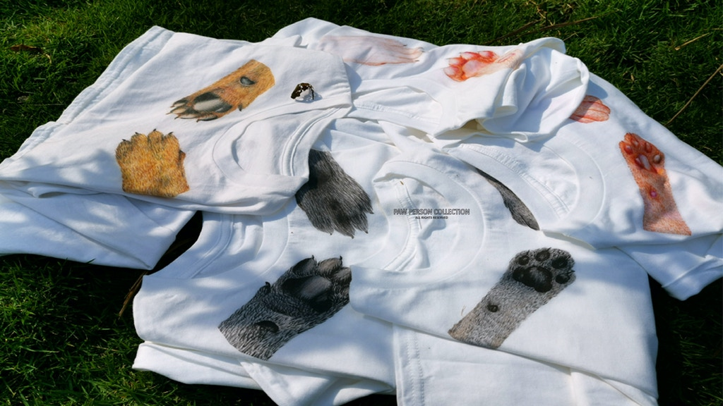 Project image for A Tee Collection: The Paw Person