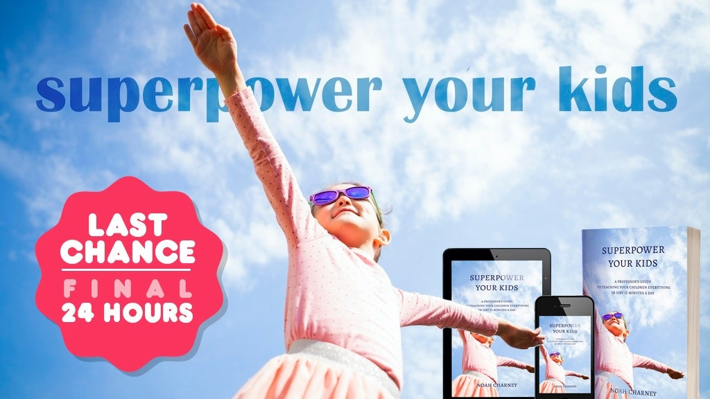 Superpower Your Kids! A New Parenting Book + App project video thumbnail