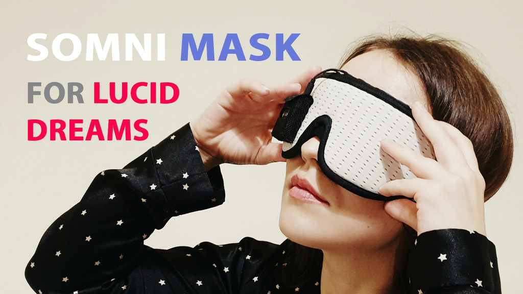 Somni Mask is the easiest way to lucid dreaming project video thumbnail