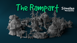 The Rampart - Printable stl 3d models for wargaming thumbnail