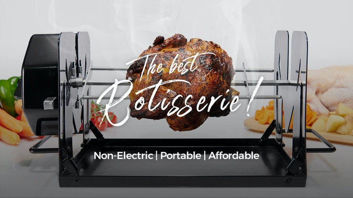 Breathe new life into your cooking appliances and start producing restaurant-quality, rotisserie-style fare in your very own home Today