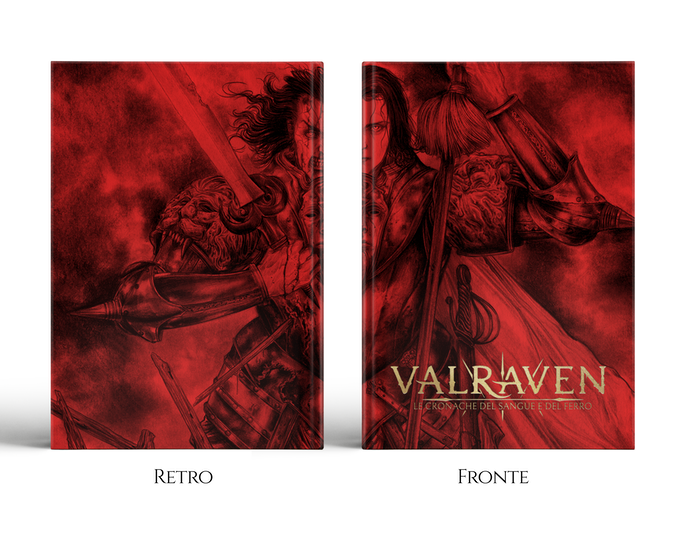 Dettaglio della copertina della Red Edition di Valraven