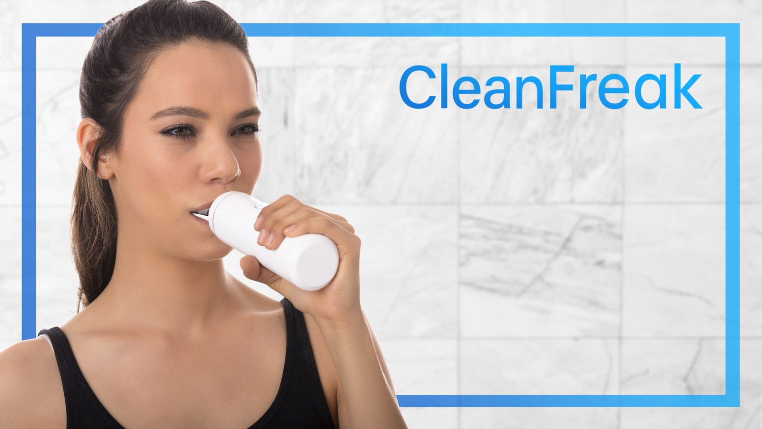An automatic toothbrush that cleans your teeth without you having to move your hand.