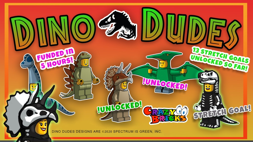 Dino Dudes! project video thumbnail