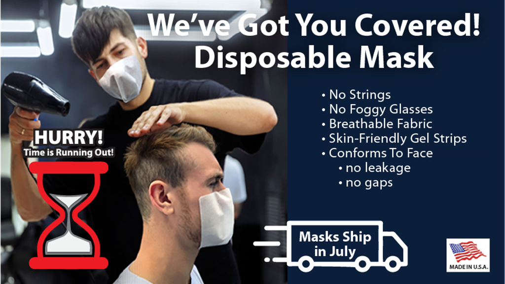 We've Got You Covered! No Strings Attached Disposable Mask project video thumbnail
