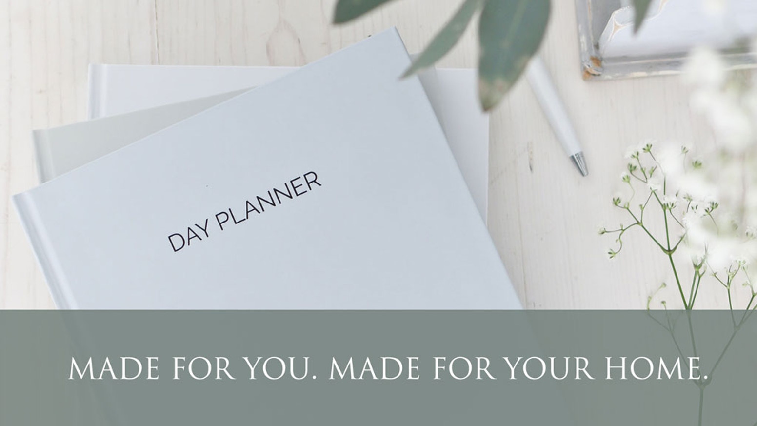 Designed for beautiful simplicity and maximum productivity.  Planning products made for you, and made for your home.