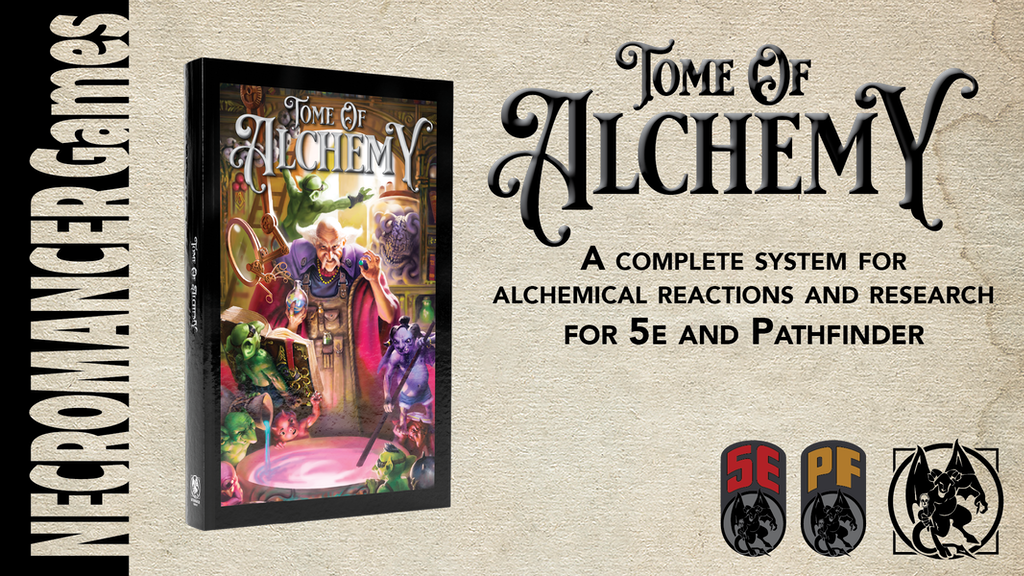 Project image for Tome of Alchemy: Magic Item and Potion Creation for 5e