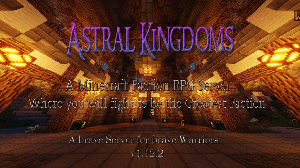 Minecraft Factions RPG server project video thumbnail