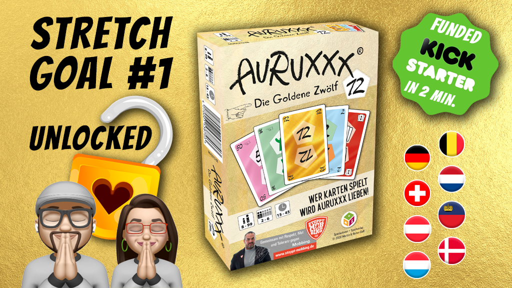 AURUXXX Die Goldene 12 project video thumbnail