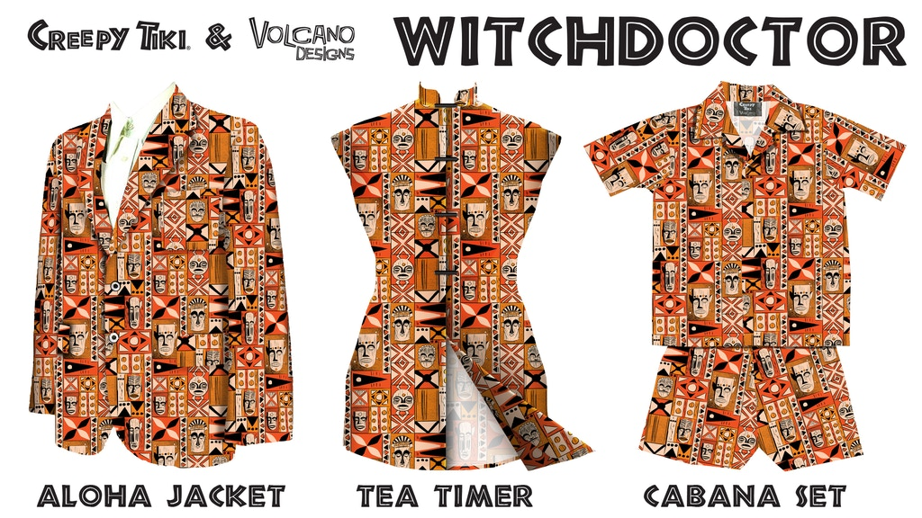 Witchdoctor Jacket, Tea-Timer, Cabana, Mai Tai Glass & Pins project video thumbnail