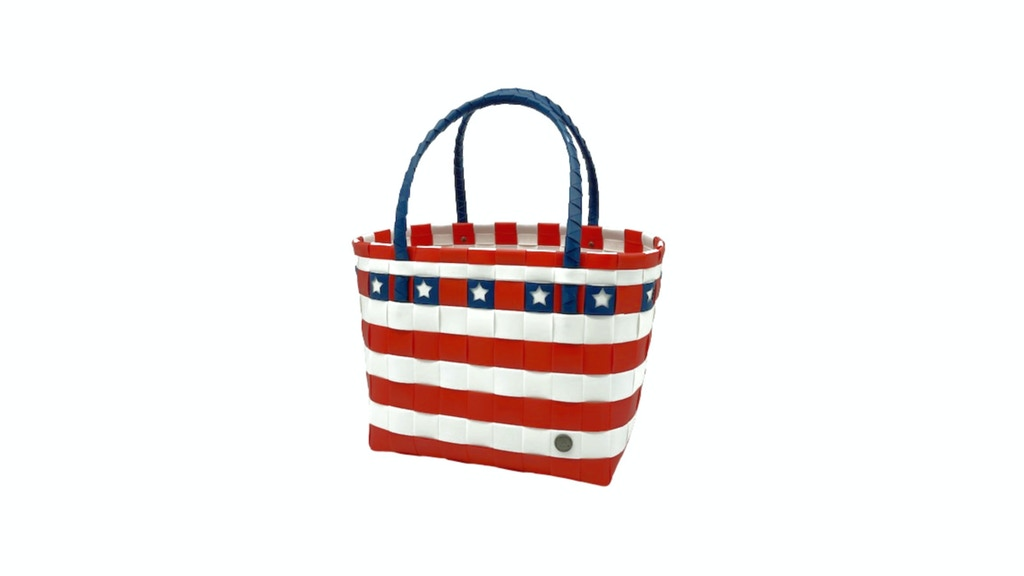 Project image for Americana Recycled Handwoven Tote Bag