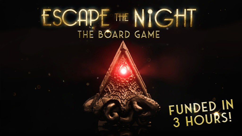 Escape The Night Board Game project video thumbnail