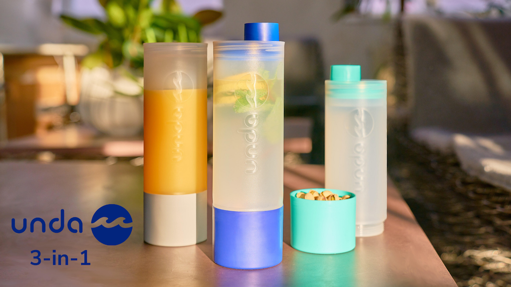 unda: Your Daily 3-in-1 Bottle, Cup And Storage Compartment project video thumbnail