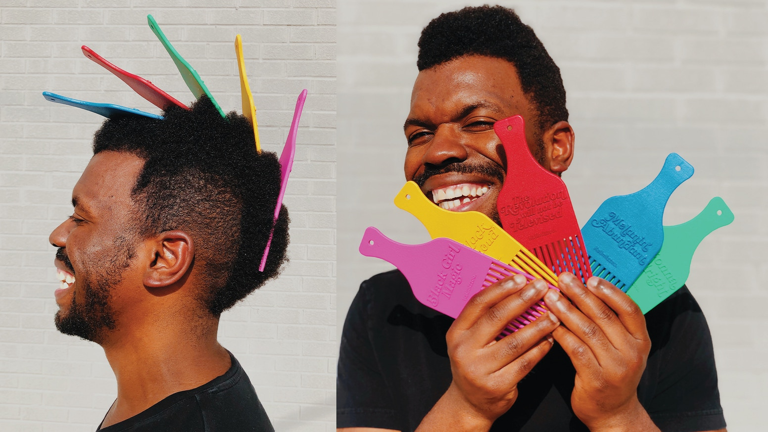 An accessory for the culture: For anyone who wants to sport their hair crown –– and social crown.