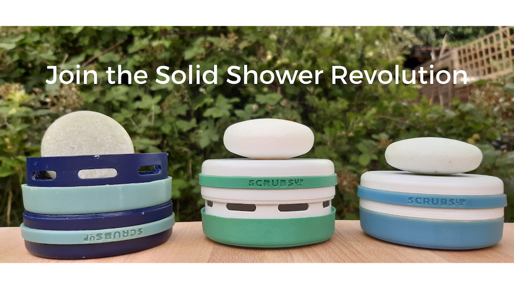 ScrubsUp - The solid shower revolution project video thumbnail
