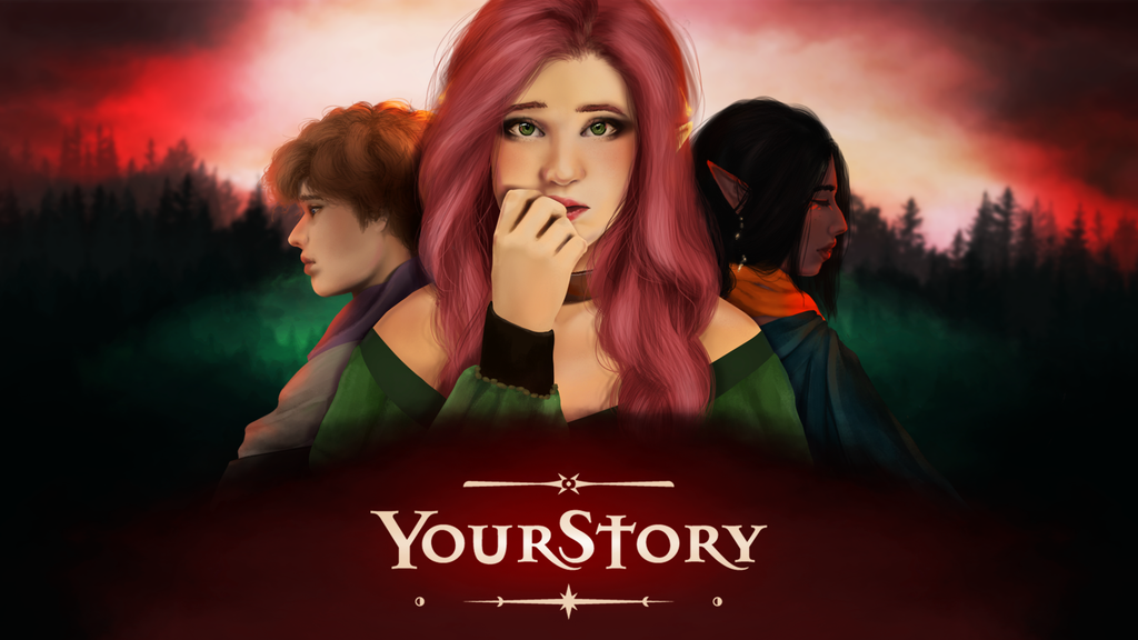 Your Story - a fantasy visual novel project video thumbnail