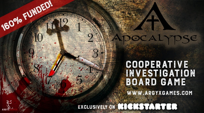 Apocalypse is sold out but you can back our new escape box NOW on KS!