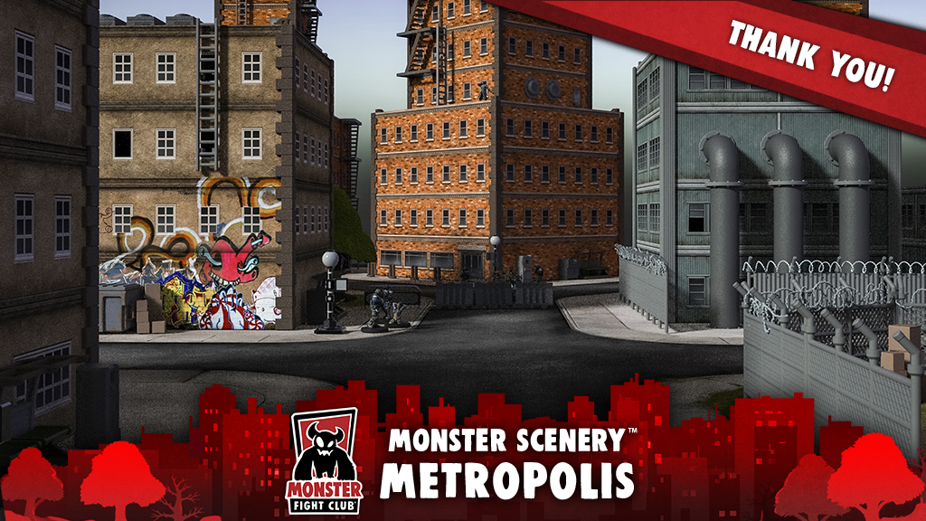 Monster Scenery: Metropolis project video thumbnail