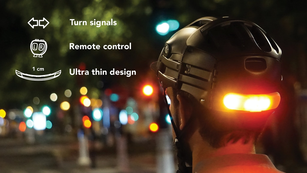 BLINXI: the Smart Indicator Light for Helmet project video thumbnail