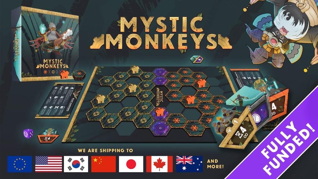 Mystic Monkeys project video thumbnail