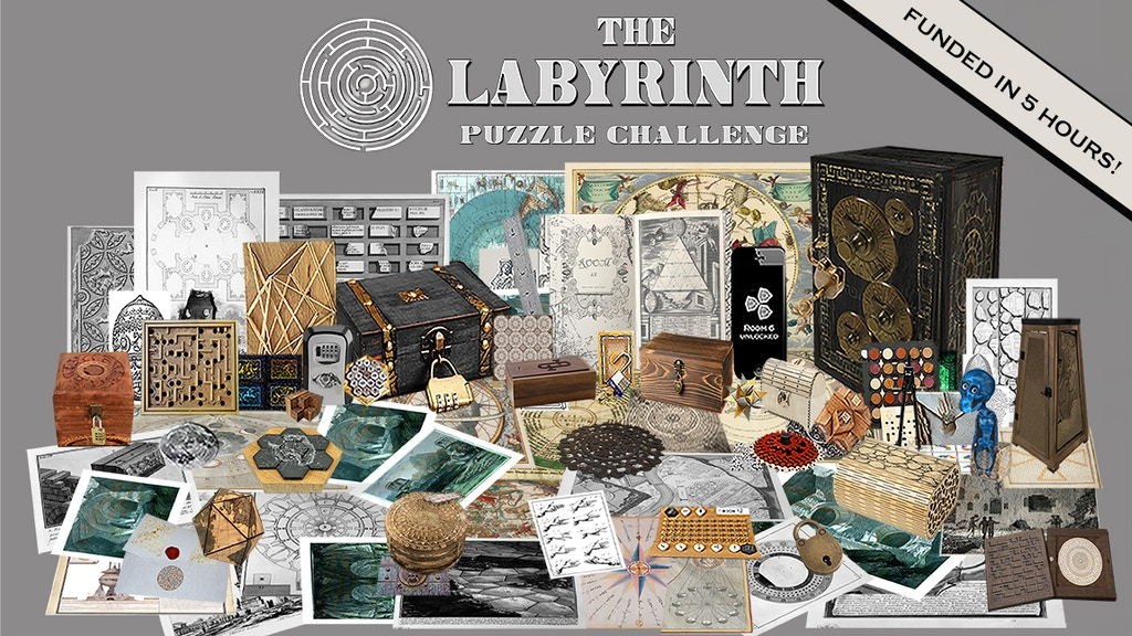 The Labyrinth - An Immersive Multi-Platform Puzzle Challenge project video thumbnail
