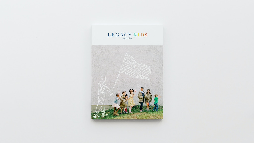 Legacy Kids Magazine | An Empowering Take on Military Life project video thumbnail
