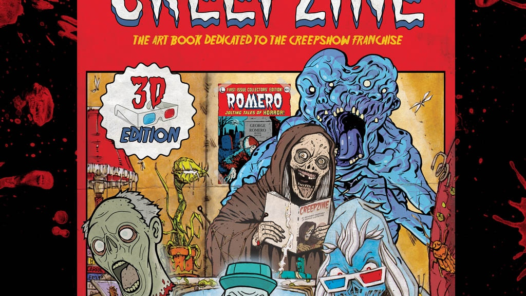 CREEPZINE The Artbook dedicated to the Creepshow franchise. project video thumbnail