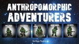 Anthropomorphic Adventurers: White metal sci-fi miniatures thumbnail