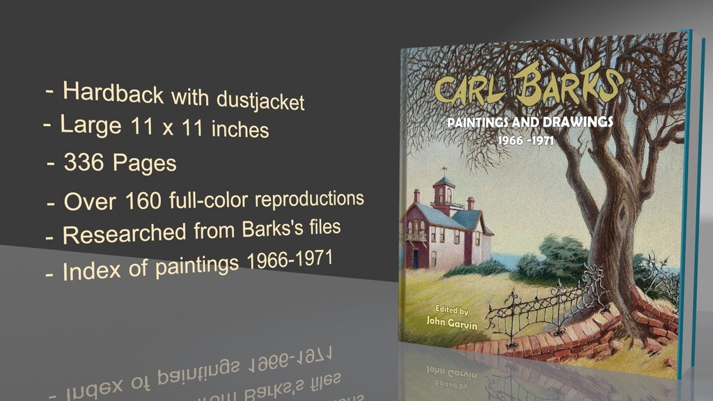 Carl Barks: Paintings and Drawings 1966-1971 project video thumbnail