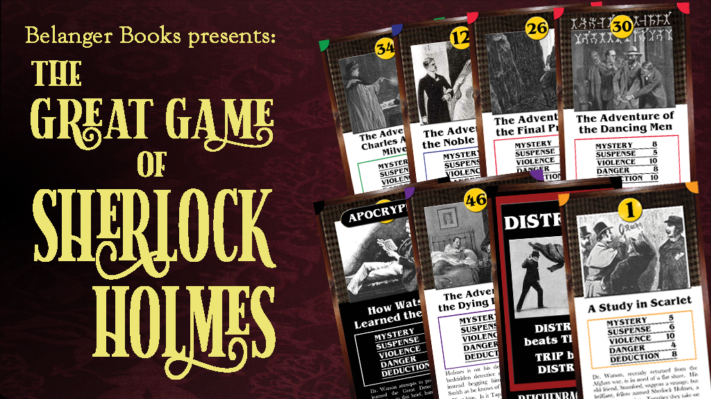 The Great Game of Sherlock Holmes project video thumbnail
