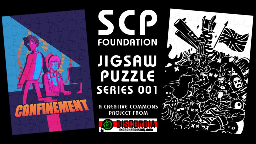 Project image for SCP FOUNDATION JIGSAW PUZZLE SERIES 001 #MAKE100 (Canceled)