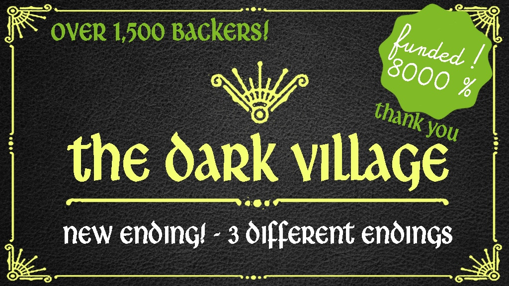 The Dark Village project video thumbnail