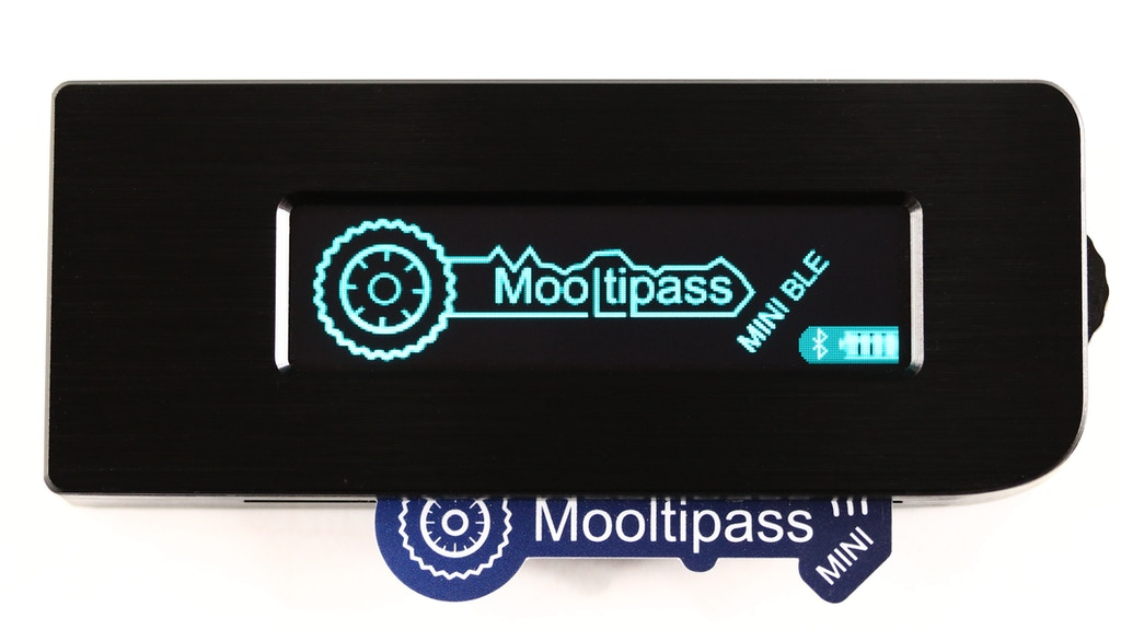Mooltipass Mini BLE - Security On The Go! project video thumbnail