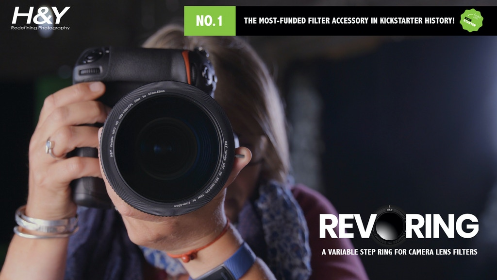 REVORING: A Variable Step Ring for your Camera Lens Filters project video thumbnail