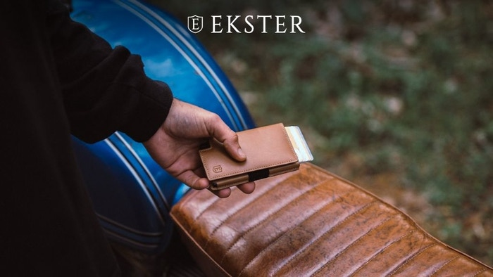 Ultra-slim solar-powered trackable wallets with quick card access at the click of a button. Never lose your wallet again!