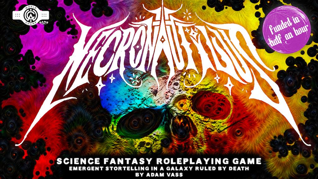Project image for Necronautilus: Science Fantasy TTRPG