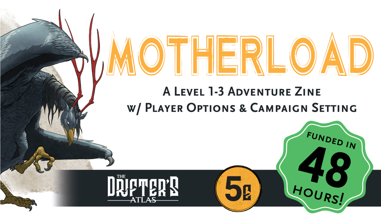 A Level 1-3 Adventure & Player Options for 5th Edition
