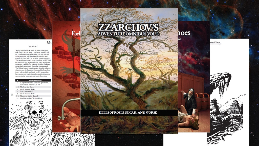 Project image for Zzarchov's Adventure Omnibus Volume 2