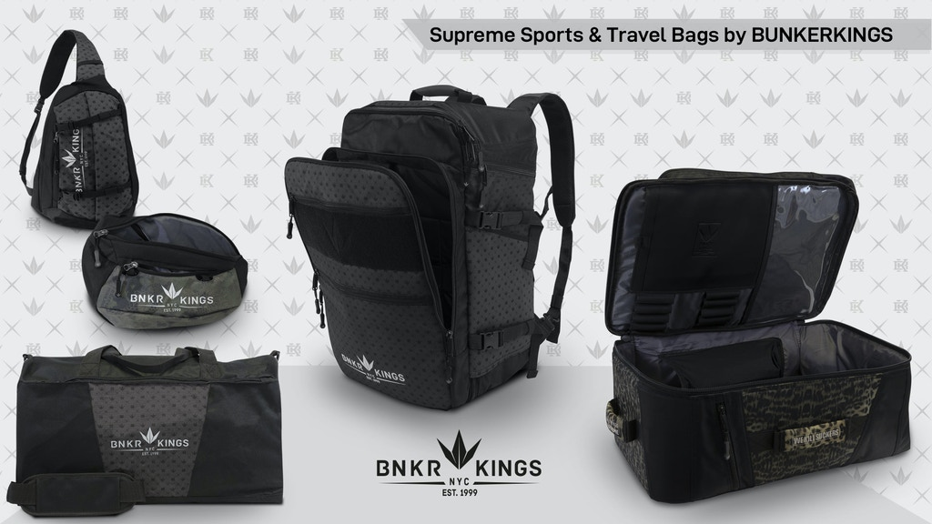 Lightweight Supreme Sports & Travel Bags by Bunkerkings project video thumbnail