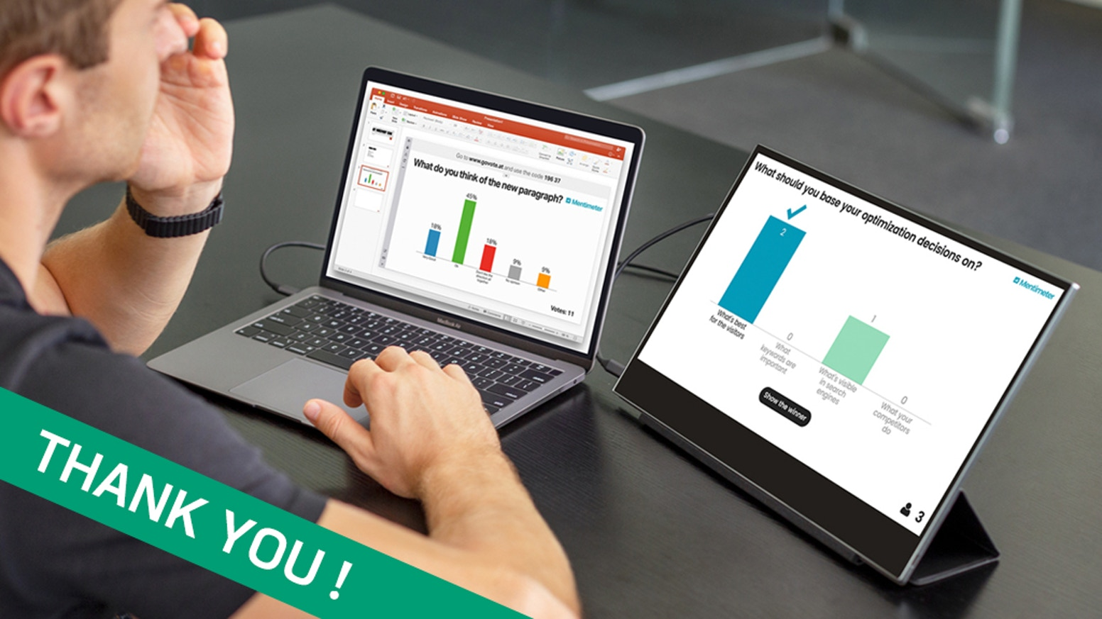 """Weighing only 1.1 lb, AirTab is a reinvented 15.6"""" portable monitor that maximizes your productivity wherever you are."""