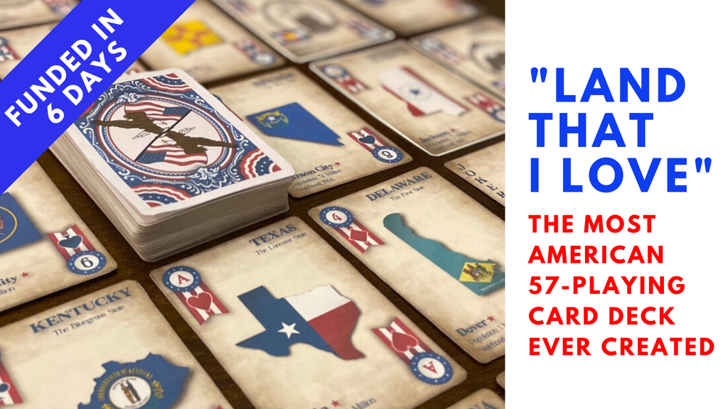 Land That I Love: Most American Playing Card Deck Ever Made project video thumbnail