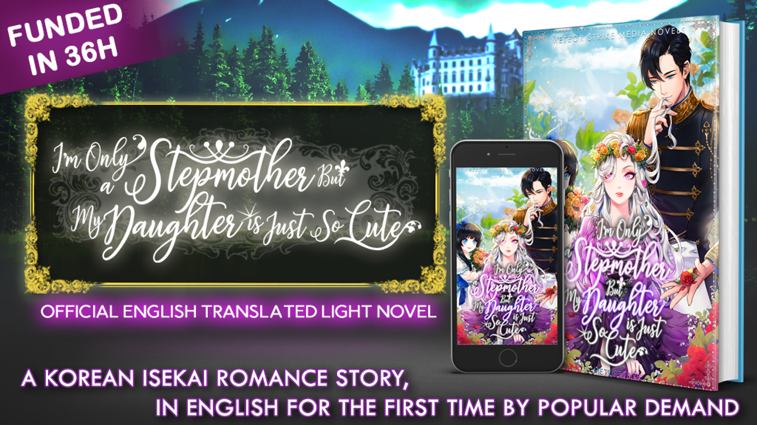A Korean Web Novel localized into English. Immerse yourself in one of Korea's most popular romance novels!