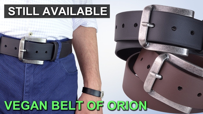 Thanks to everyone who pledged! The belt of Orion will be available in November 2020 at www.truthbelts.com. We did it!