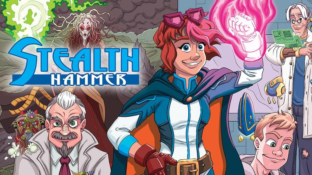 Stealth Hammer - Superhero Meets Sci-Fi Tech & Mythology project video thumbnail