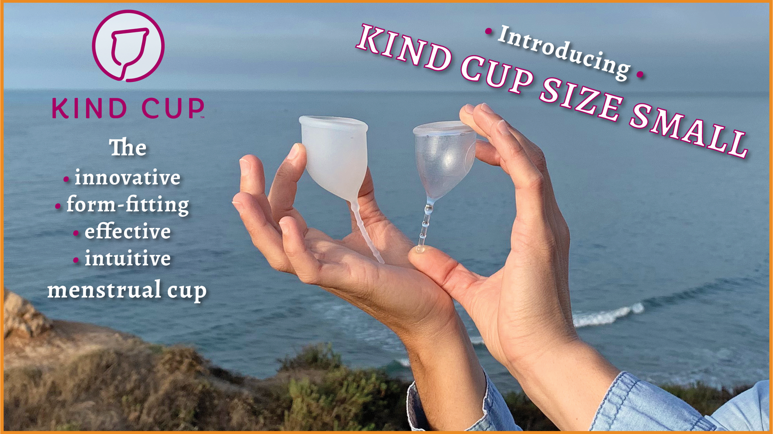 Looking for a menstrual cup that is comfortable, effective, and intuitive to use? Our form-fitting design is creating a new standard.
