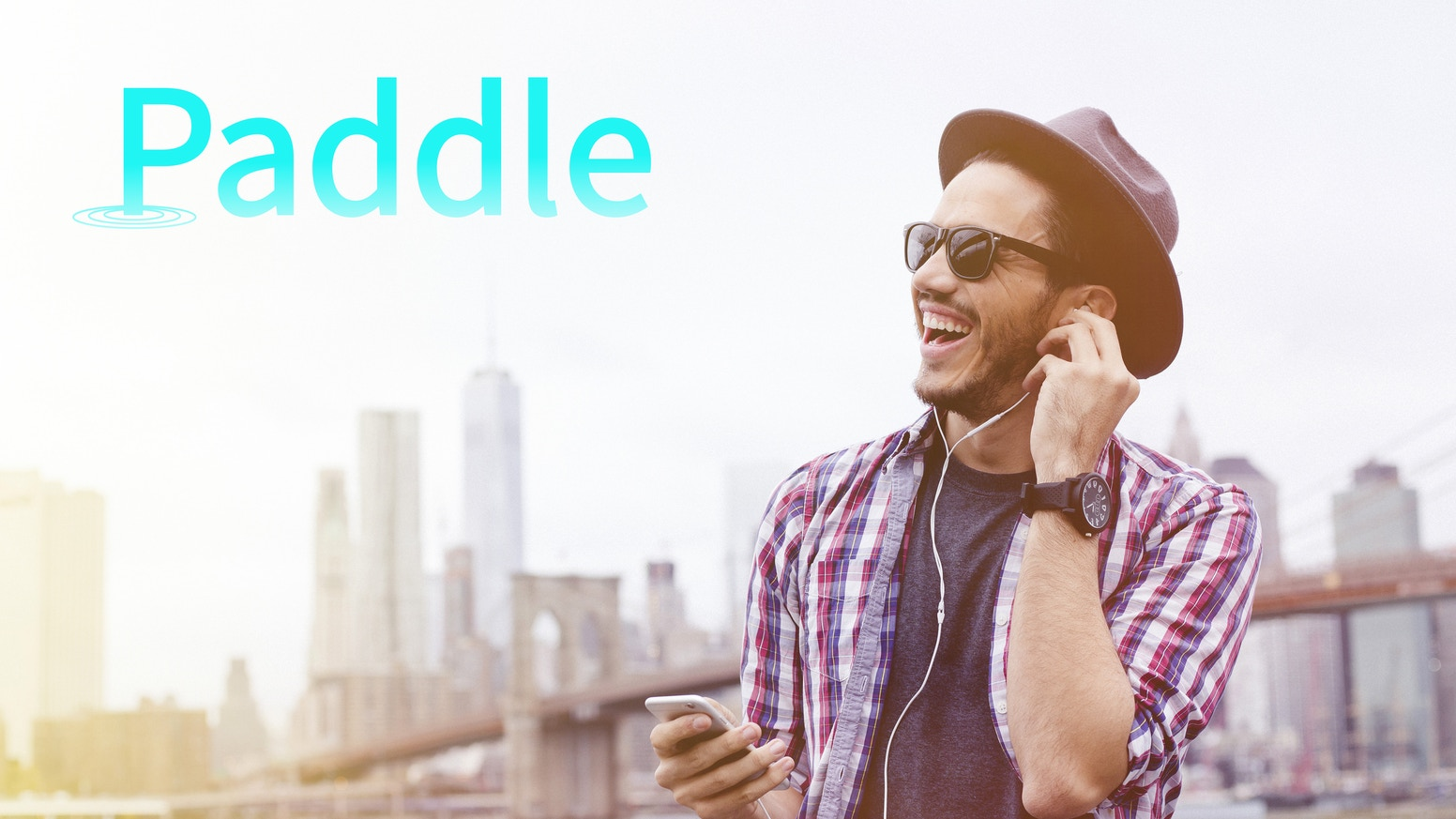 Spotify is for discovering music. Paddle is for sharing the music you discover.