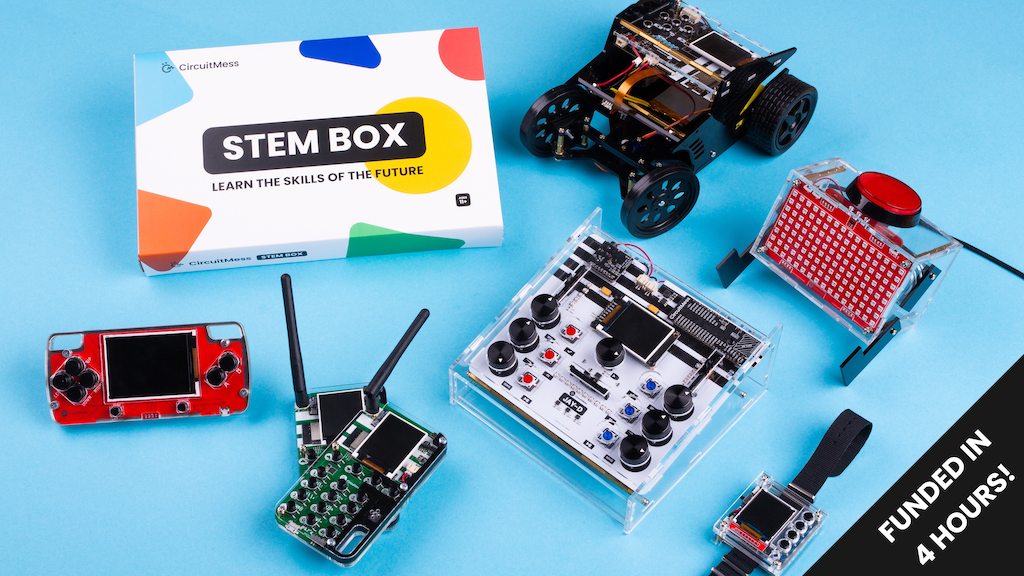 CircuitMess STEM Box project video thumbnail