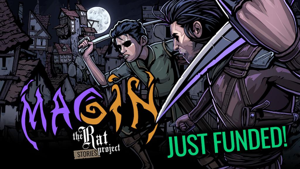 Magin - Narrative Driven, Deck Building Adventure RPG project video thumbnail